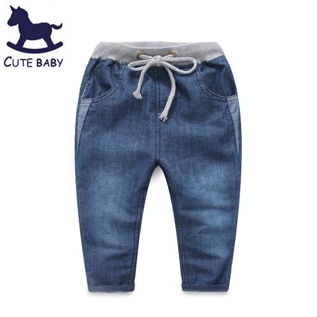 2016 pantalones niños pantalones vaqueros para niñas niños embroma la ropa para niños 6-7-8-9y todo para los niños ropa y accesorios