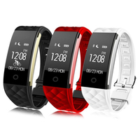 Original S2 Smart Band 2 Wristband Bracelet Heart Rate Pedometer Sleep Fitness Bluetooth IP67 Waterproof For iPhone Xiaomi Phone Smart Wristbands