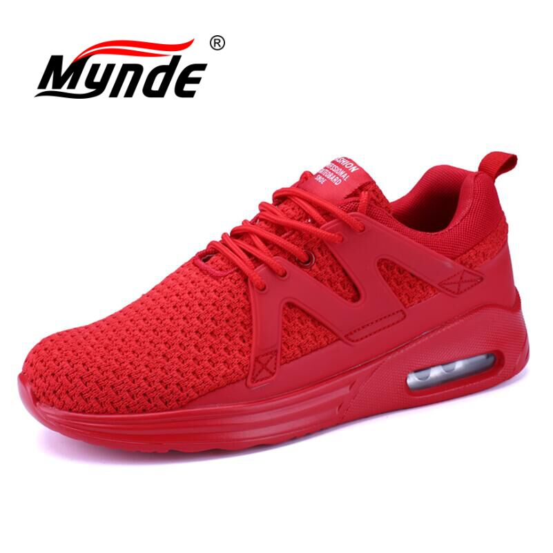MYNDE Brand New Breathable Running Shoes For Man Sport Shoes Men Sneakers Mesh Light Shoes Jogging zapatillas hombre deportiva