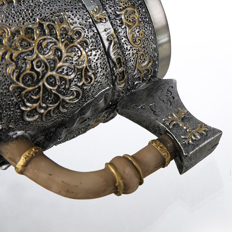 VikingWarriorAxeSkullMug