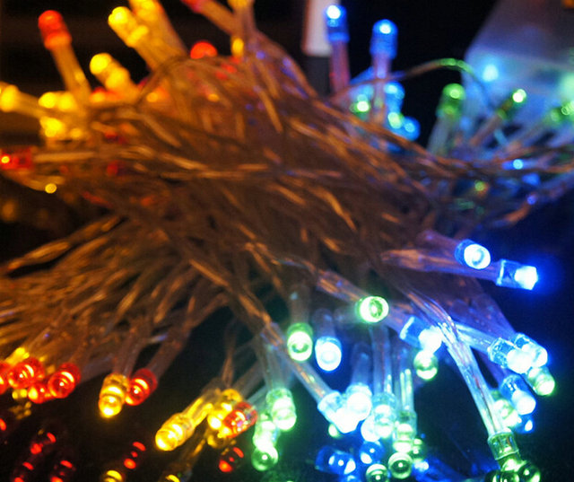 2m 20 led string fairy light christmas party wedding garden yard camping lights battery operated diy - Battery Operated Christmas Yard Decorations