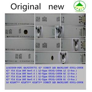 """Image 4 - Светодиодный Подсветка полосы для LG 42 """"ТВ V14 тонкий DRT Rev0.6 6916L 1682A 1684A 1683B 1685B LC420DUH LG42LB673 42LY970H 42LB700V 42LB671V"""