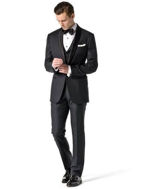 Online Shop 2018 italian men suits Groom Tuxedos Wedding Suit Best ...