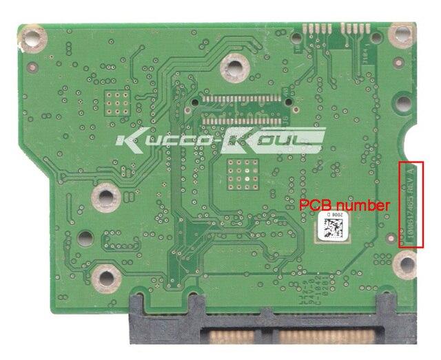 Жесткий диск части PCB логическая плата печатная плата 100617465 для Seagate 3.5 SATA жесткий диск восстановления данных жесткий диск ремонт