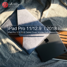 For Apple iPad Pro 12.92018 Case 11 high quality Shockproof Wool Felt Tablet Sleeve Bag Computer Notebook Cover