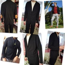 2018 Brand Clothing Casual Blazers Men Fashion Plus Size Business Slim Fit Jacket Suits Masculine Blazer Coat Button Suit Y1983