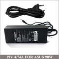 19V 4.74A 90W Universal Laptop Charger AC Adapter For Notebook Asus ADP-90CD DB ADP-90SB BB PA-1900-24