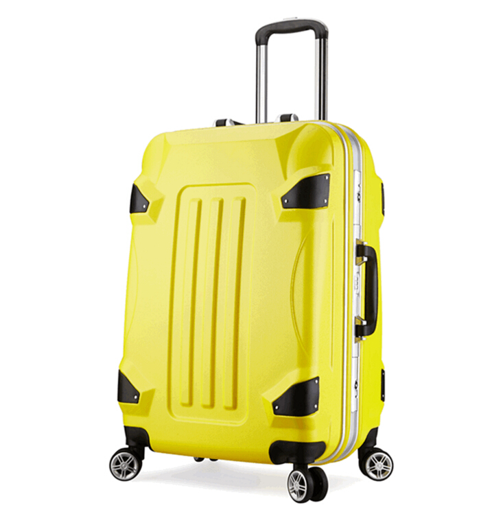 2016 hot Transformers Trolley Luggage 24 inch aluminum frame crossover box luggage box wholesale custom free shipping