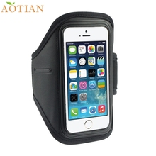 AONIJIE Sports activities Operating Armbands Sport Fitness center Operating Biking Arm Band Armband Case For iPhone 5S 5C 4G 4S For ipod Contact 4G Items