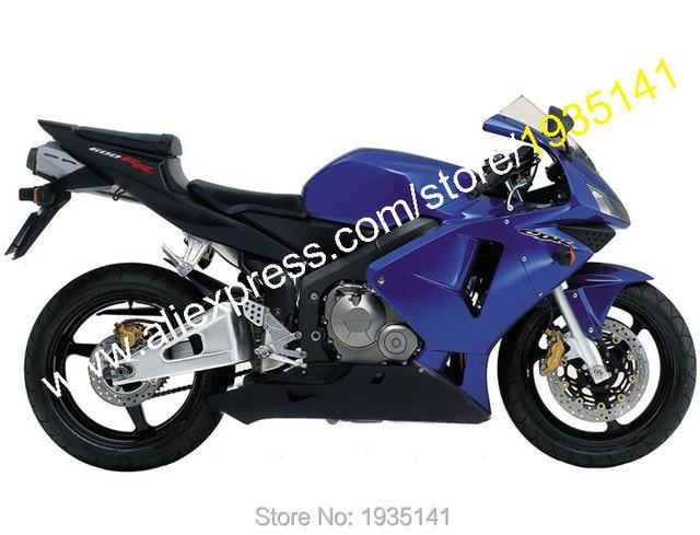 Vendas Hot Azulpreto Para Honda Cbr600rr 03 04 Cbr600 Cbr 600rr