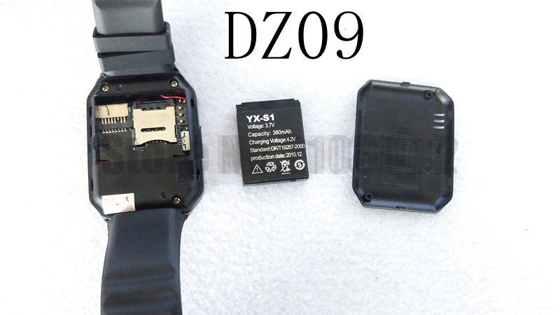 Bluetooth font b Smartwatch b font DZ09 Android Health Montre Connecter Pedometer Camera Men Women Smartwach