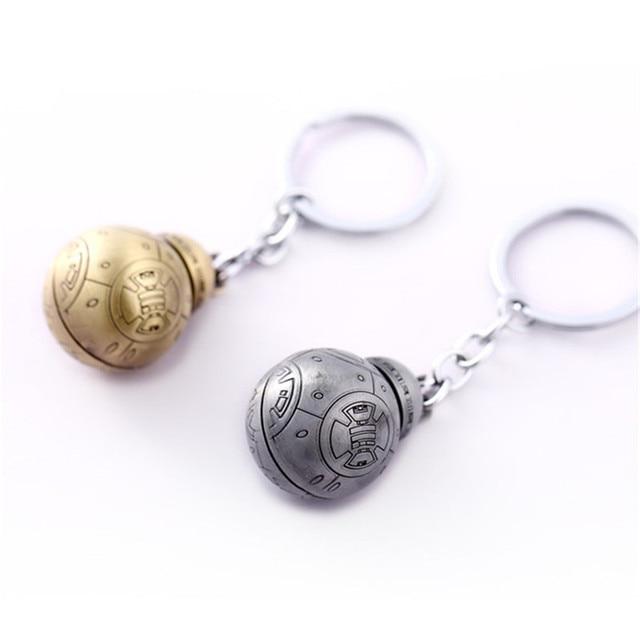 Hot Star Wars Keychain BB-8 BB8 StormTrooper Darth Vader Key Chain Ring For Fans Men Jewelry Chaveiro llaveros Porte Clef