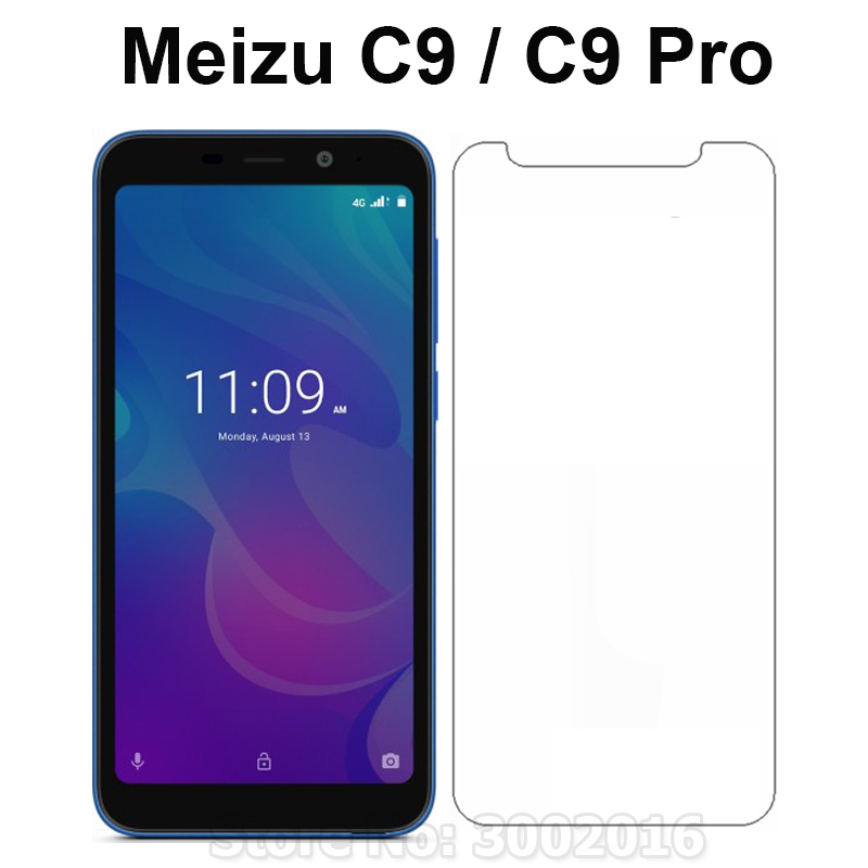 2PCS Tempered Glass For Meizu C9 C9 Pro Screen Protector Scratch Proof Smartphone LCD Film For MEIZU C9Pro C9 Pro Glass Cover