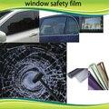 1.52*5 m Del Coche A Prueba de Explosiones Transparente 4mil película Protectora de Cristal para ventanas 100 micras película de seguridad