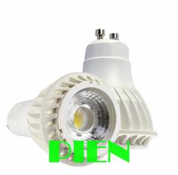 7W GU10 LED spot light COB Ceramic led lamp dimmable AC85-265V 700LM 2 years warranty CE&ROHS by DHL 30pcs/lot - SALE ITEM All Category
