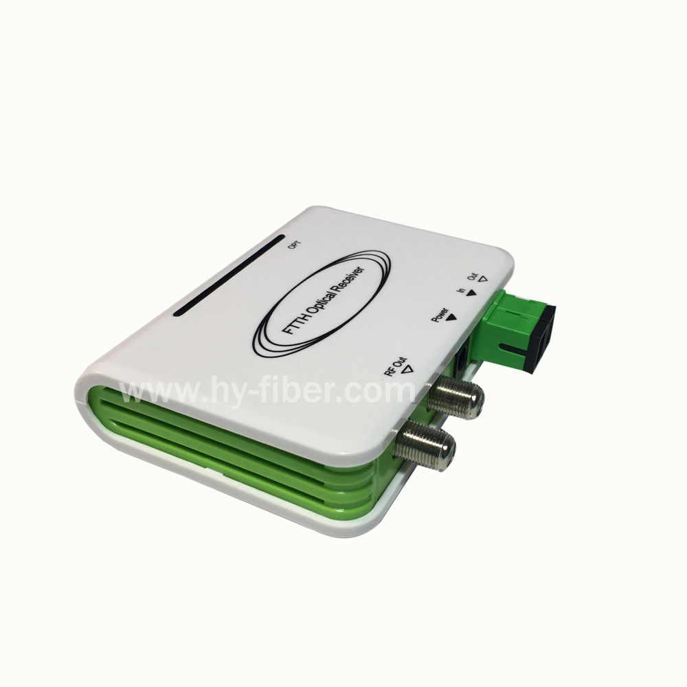 CATV оптический узел мини приемник ftth CATV волоконно-оптический WDM конвертер Triplexer Minimode с двумя РЧ-портами