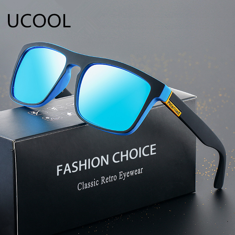 UCOOL 2018 Sunglass Polarized Retro Men's Sunglasses Driving Shades Trend Gentlemen Outdoor Personality Sunglasses For Men UV400