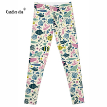 Leggings Women Fashion Hot sexy The underwater world Digital printing Pencil Trousers Size S-4XL Drop ship