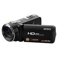 Ordro hdv HDV-Z8 Kỹ Thuật Số HD 24 Mega Pixel Video Camera Máy Quay Phim, 16x Zoom Kỹ Thuật Số với Kỹ Thuật Số Xoay LCD Màn Hình Cảm Ứng
