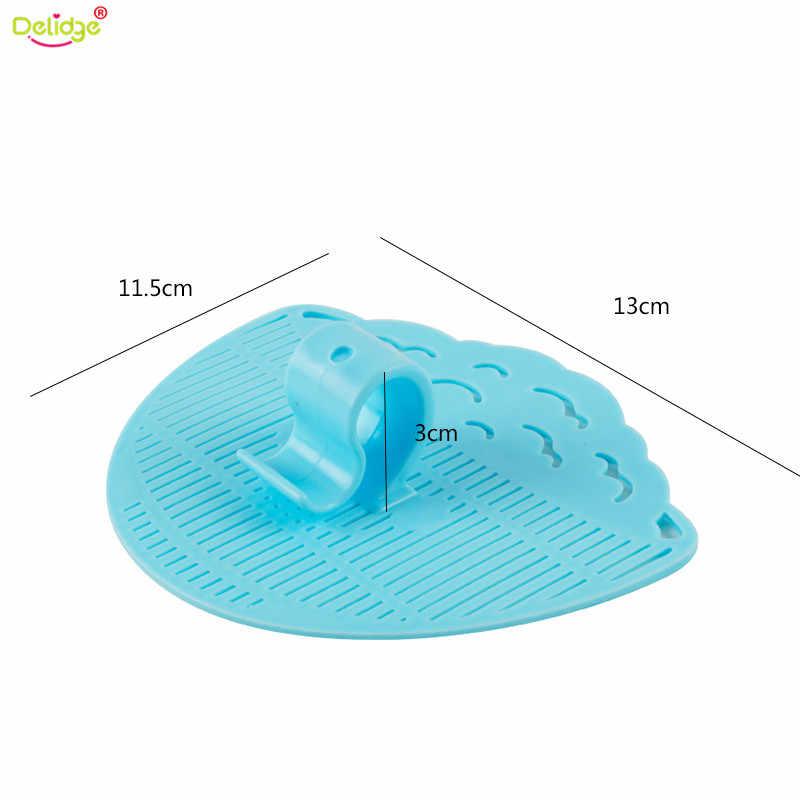 1 zestaw liść z tworzywa sztucznego kształt sito do płukania ryżu czysty gadżet kosz filtr ociekacz ryż czyszczenie klipy kuchenne narzędzia
