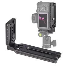 Đa Năng Phát Hành Nhanh L Plate Chân Đế Ốc Vít 1/4 Cho Sony A7iii II A9 A6400 Cho Nikon Z7 D750 Cho Canon 5D Eos R Máy Ảnh DSLR