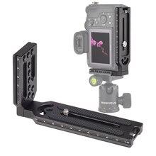 ユニバーサルクイックリリースlプレートブラケット 1/4 ネジソニーa7iii ii A9 A6400 ニコンz7 D750 キヤノン 5D eos rデジタル一眼レフカメラ