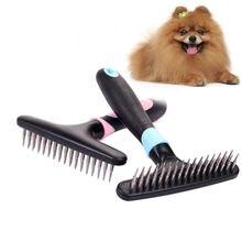 Короткие длинные густые волосы для собак, удаление шерсти, гребень для кошек и жениха