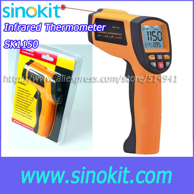 Cheaper Lase measure range Infrared thermometer SK1150