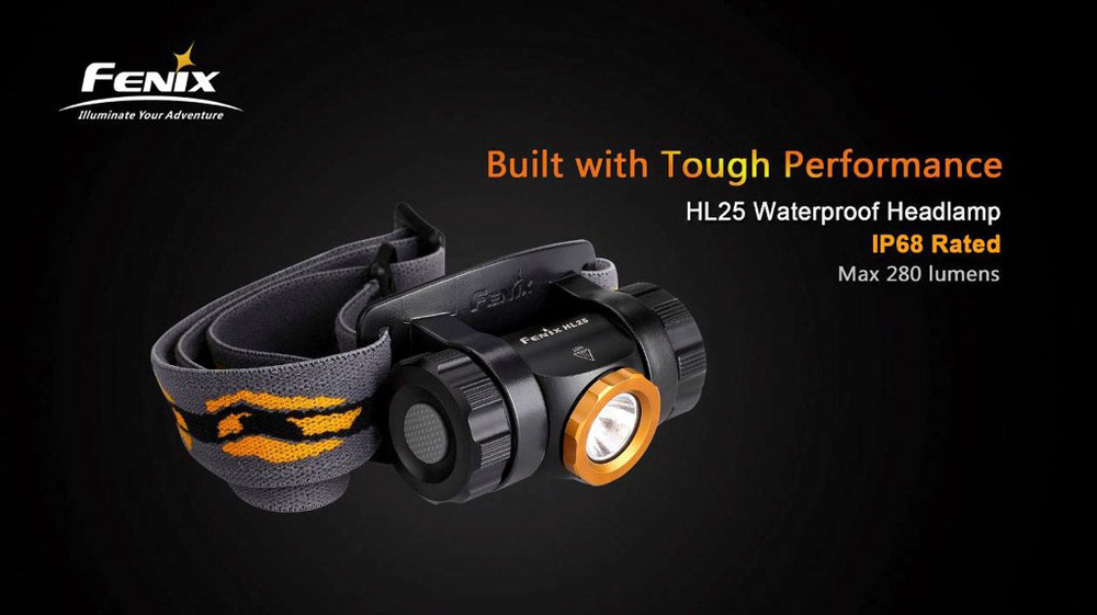 Fenix HL25 Head lamp Cree XP-G2 R5 280lm Head Lamp 3 x AAA battery
