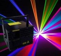 New 6W RGB Laser Light DT40K Pro R 637nm 1W G2W B3W Flightcase X Y Flips