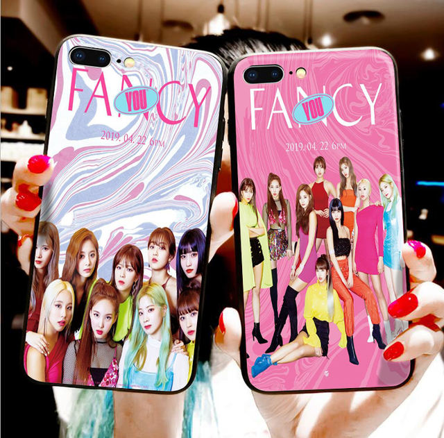 TWICE FANCY IPHONE CASE (20 VARIAN)