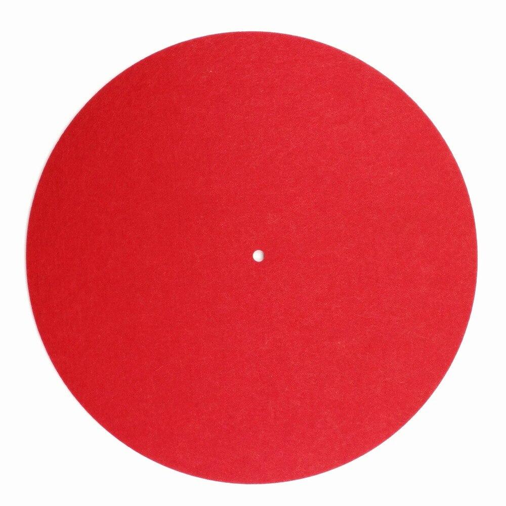 DemüTigen Fühlte Plattenspieler Platter Matte Lp Slip Matte Audiophile 3mm Dicken Slipmat Für Lp Vinyl Rekord Attraktiv Und Langlebig Tragbares Audio & Video
