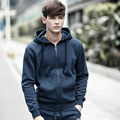 Free Shipping 2015 NEW brand  hoodies men fleece Fashion men's warm Hoodies Sweatshirts, Suit Hoody jacket 5 colors W005