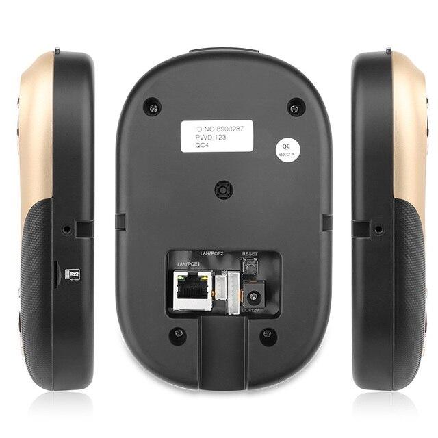 Techege Wifi Doorbell 720P Wireless Wired Video Door Phone Intercom Night Vision Motion Detection Remote Control wifi door bell