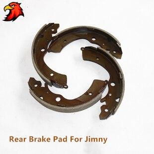 Arrière plaquette de frein De Frein chaussures pour Suzuki Jimny