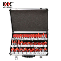 MX DEMEL 35Pcs Set Milling Cutter Bits Woodworking Router Bits Shank Router Bits Set Woodworking Carbide