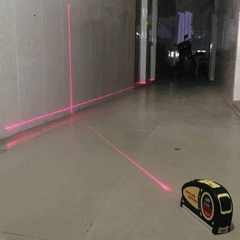 Multifunctional 4 in 1 Laser Level Cross Point Laser Line Vertical Level horizontal laser Measuring Tool цена