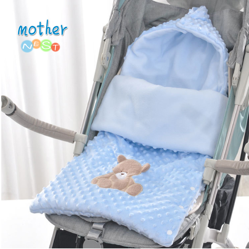 2018 Winter Sleeping Bags Baby Envelope For Stroller Newborn Baby