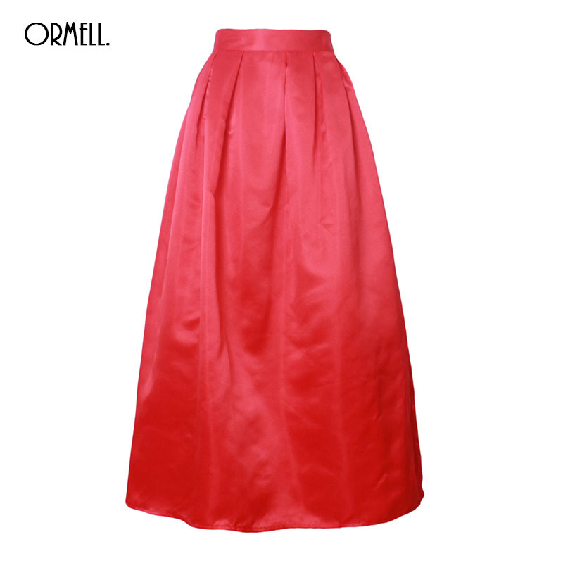 Red Long Skirt Promotion-Shop for Promotional Red Long Skirt on ...