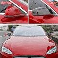 Fit For Tesla Modello X 2016 2018 Auto Retrovisore Copertura Dello Specchio Della Decorazione Car Styling Accessori Esterni ABS 2 Colori-in Cromature da Automobili e motocicli su