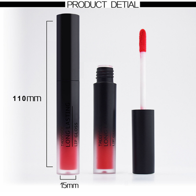 24 Color Liquid Lipstick Matte Makeup Waterproof Red Lip Long Lasting Gloss Mate Black Lip Stick Matte Liquid Lipsticks 5