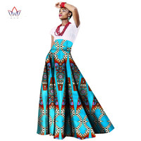 2017 Sping African Women Clothing Long Maxi Dashiki For Women Bazin Riche Robe Longue Femme Plus