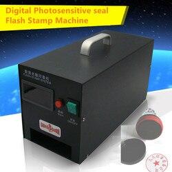 Machine de timbre Flash de joint photosensible numérique 220 V Selfinking emboutissant faisant le système de joint