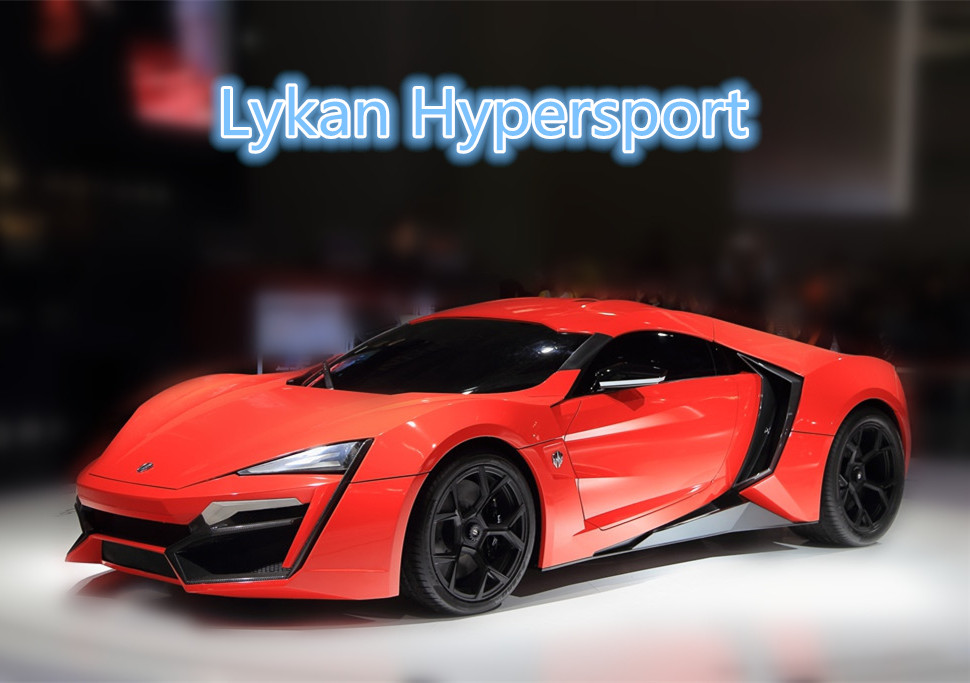 1 32 Simulation Die Cast model car toy Lykan Hypersport have lighting and font b music