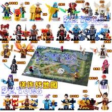 DR TONG 28PCS King of Glory Enlighten Assemble One of China Romance the Three Kingdoms King