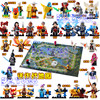 36PCS King Of Glory Enlighten Assemble One Of China Romance The Three Kingdoms King Knight Heroes