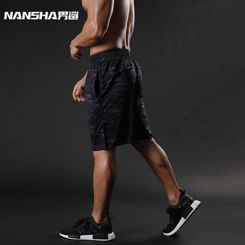 NANSHA Brand Mens Compression Shorts Summer Python Bermuda Shorts Gyms Fitness Men  Bodybuilding Tights Camo Shorts Lahore