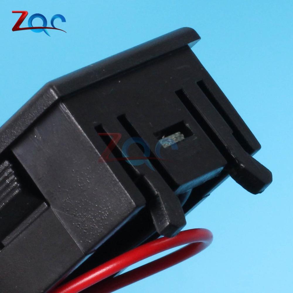 Image 2 - 6 V/12 V/36 V/48 V indicador de nivel de carga de batería de ácido de plomo de coche probador de batería de litio medidor de capacidad de batería LED voltímetroindicator batteryindicator battery capacityindicator led -