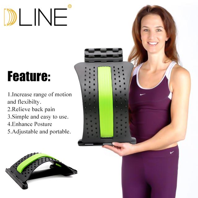 Yoga Mat Waist Massage Flexibility Training Gym Sports Waist Correction For Exercise Yoga And Pilates