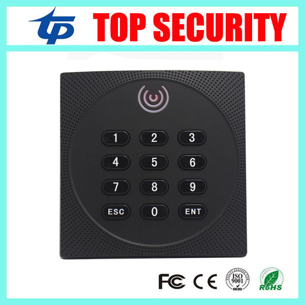 Good quality smart card access control card reader weigand26 proximity card reader IP65 waterproof access control card reader 125khz rfid card smart card access control ip65 waterproof metal proximity card access control with keypad weigand in and out